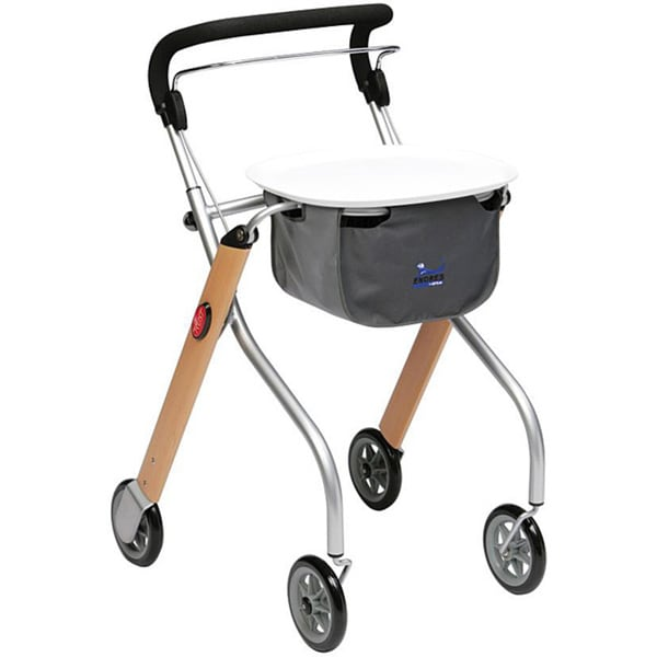 Let S Go Indoor Lightweight Walker Rollator 13090317 Overstock Com Shopping Great Deals On - Indoor Rollator