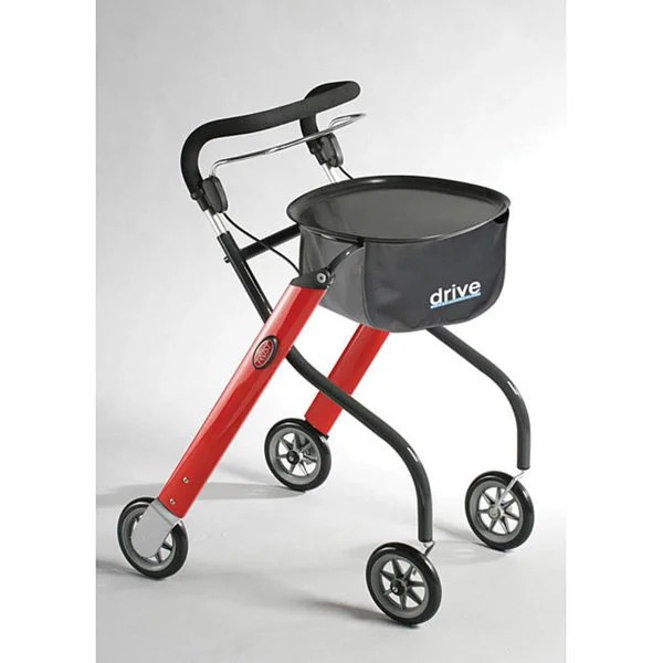 Shop Drive Medical Lets Go Indoor Walker Rollator Free Shipping Today Overstock 5274705 - Indoor Rollator