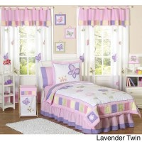 Shop Sweet JoJo Designs Butterfly Girl's Bedding Set ...