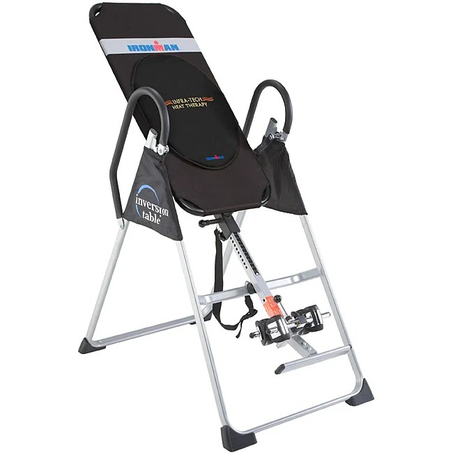Ironman Gravity 1000 Inversion Table With Heat Therapy