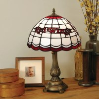 Tiffany-style Detroit Red Wings Lamp - 13334116 ...