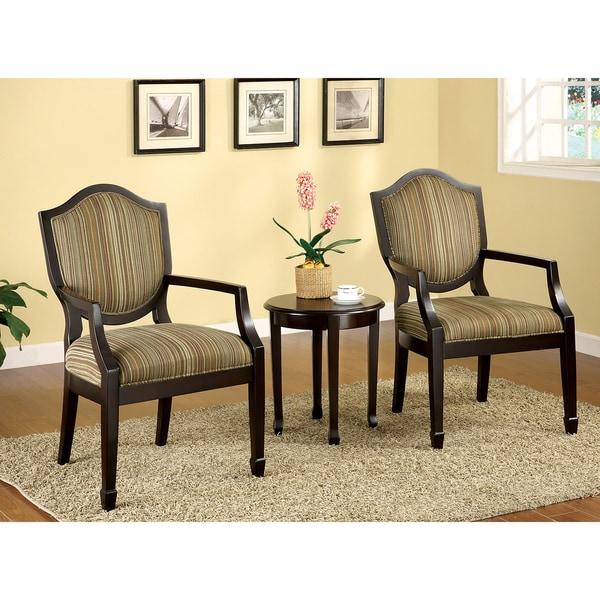 Furniture of America Caroline 3-piece Living Room Furniture Set - 3 piece living room table set