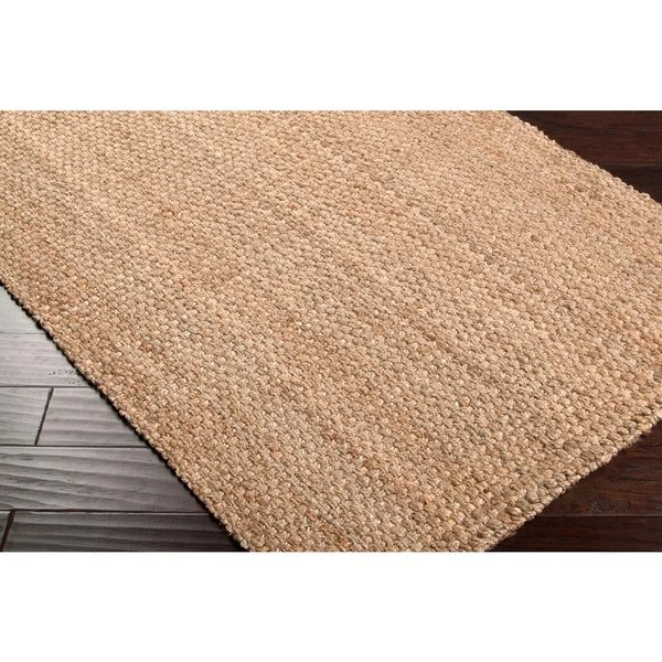 Hand Woven Carter Natural Fiber Jute Area Rug 2396 X 4