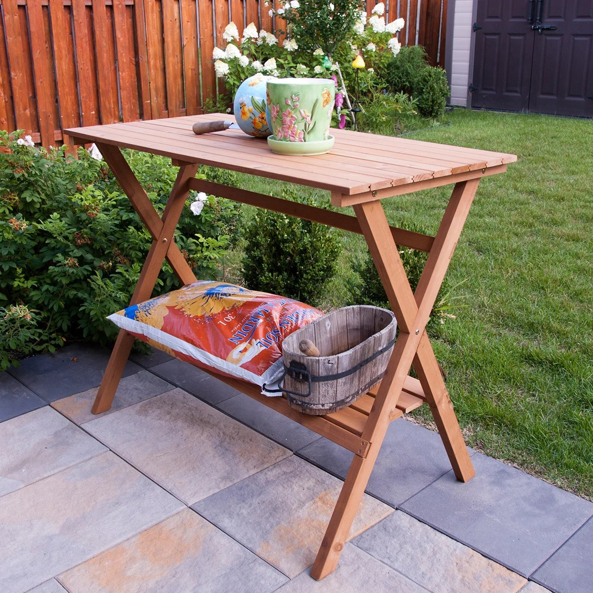 Planting Tables For Sale Buy Potting Tables Online At Overstock Our Best Outdoor Decor Deals