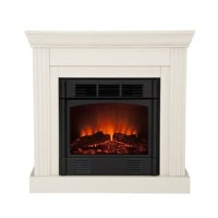 Martel Ivory Convertible Petite Electric Fireplace - Free ...