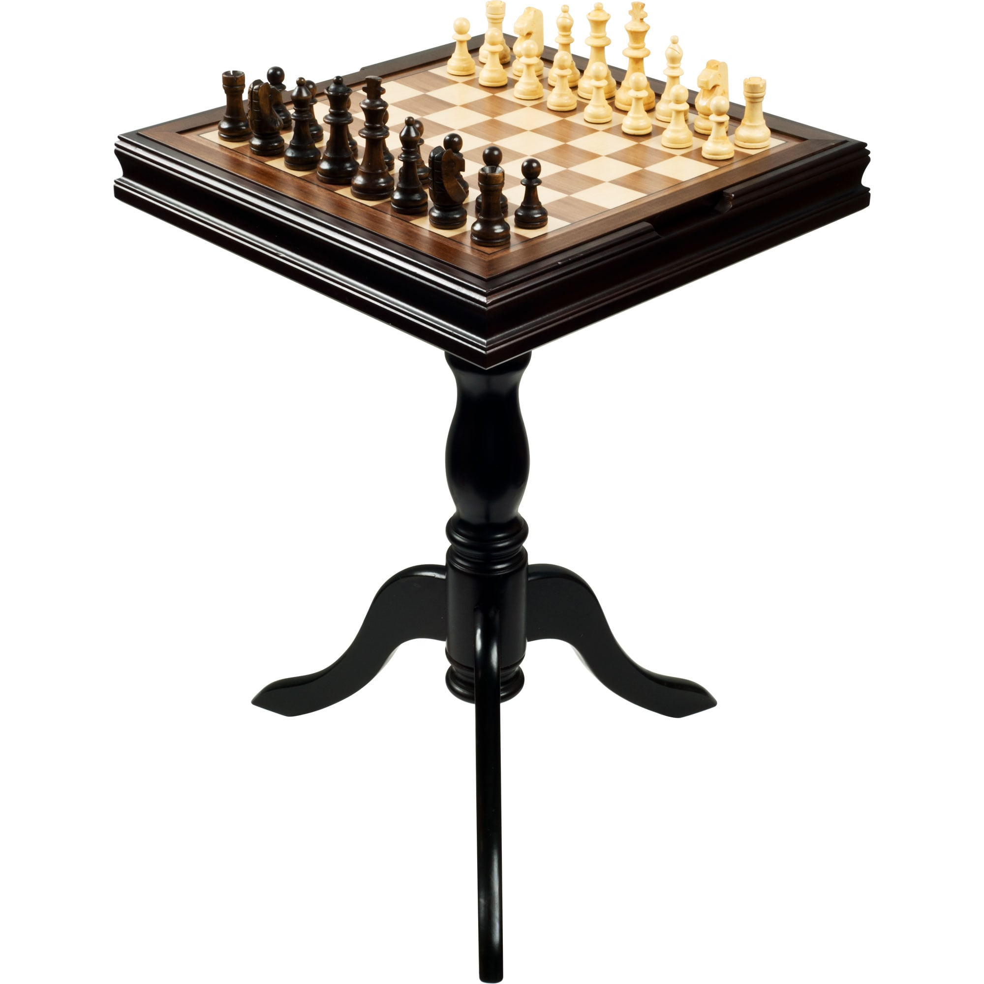 Chest Game Set Chess And Backgammon 27 Inch High Table Free Shipping