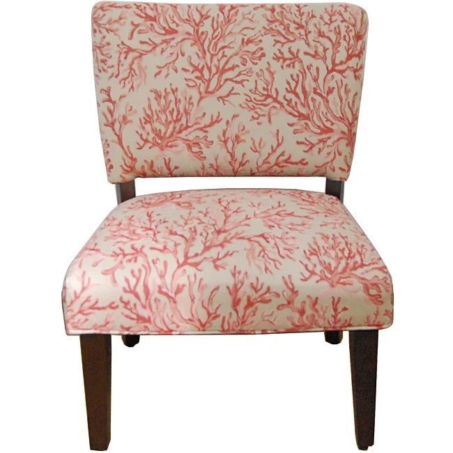 Floral Fabric Gigi Accent Chair Furniture Home Living Seat