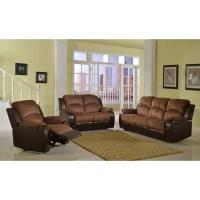 Shop Pamela Two-Tone Reclining Sofa Set - Free Shipping ...
