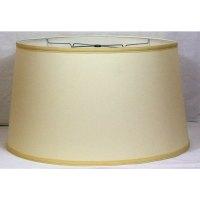 Shop Crown Lighting Off-white Drum Lampshade - Free ...