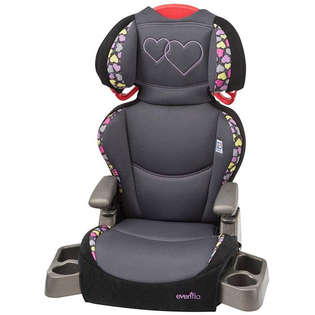 Evenflo Big Kid Lx High Back Booster Car Seat In Amelia