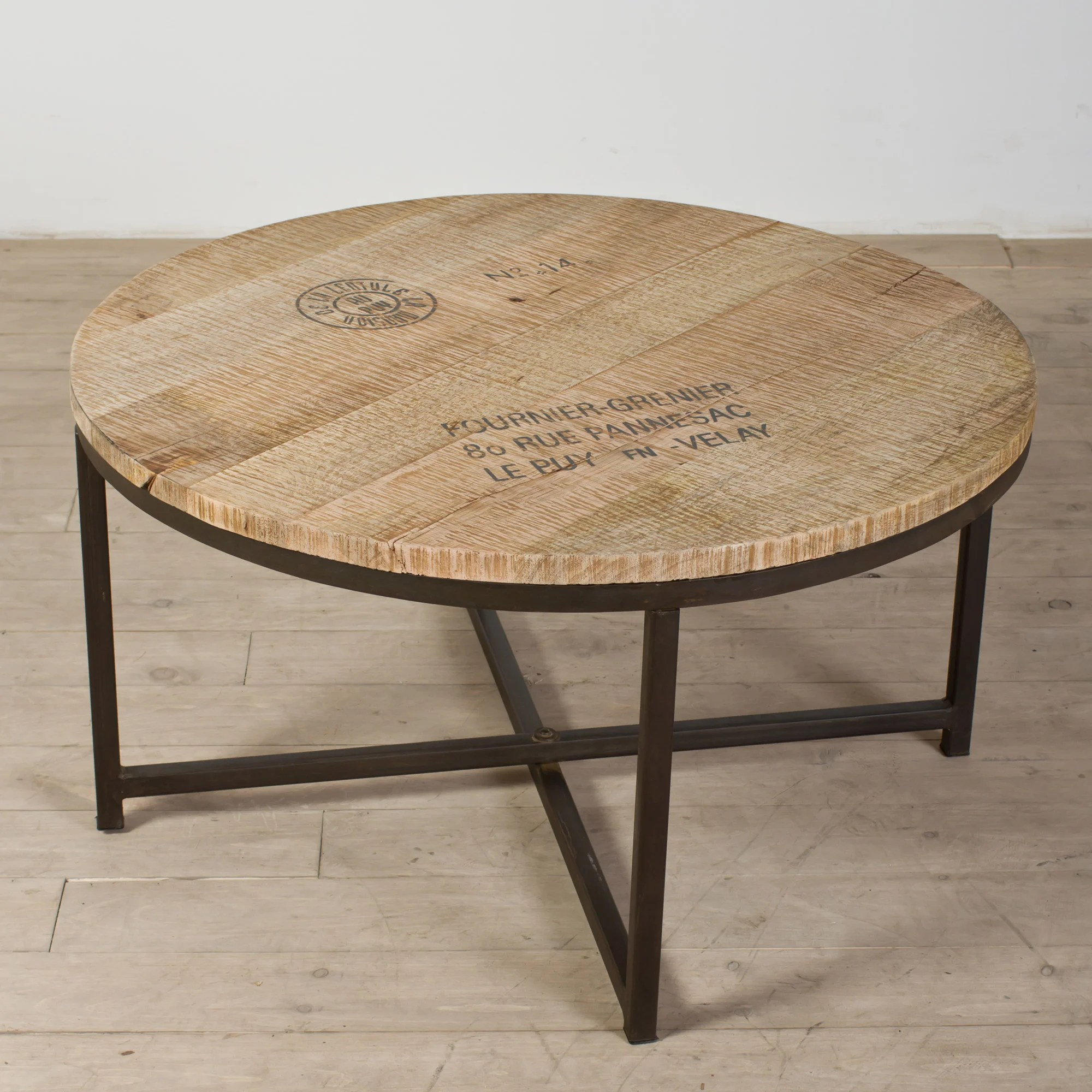 Round Coffee Table And End Tables Ayodhya Round Coffee Table India Overstock Shopping