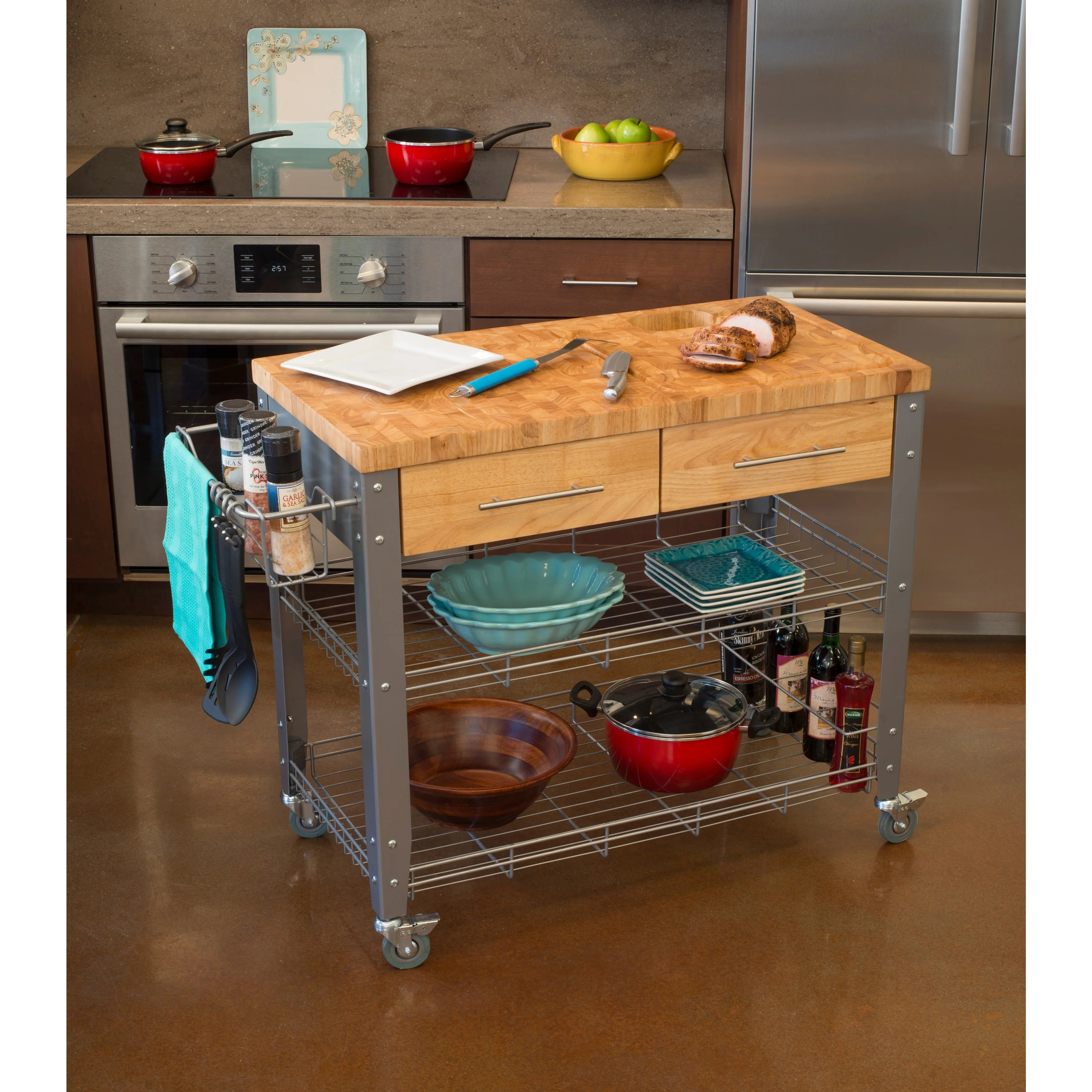 Cucina A Gas Vintage Buy Butcher Blocks Online At Overstock Our Best Kitchen