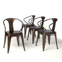 Shop Tabouret Vintage Tabouret Stacking Chairs (Set of 4 ...