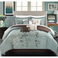 Bliss Garden 12-piece Bed in a Bag with Sheet Set - Free ...