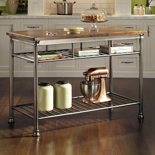 Overstock Kitchen Island Home Styles The Orleans Kitchen Island - Free Shipping
