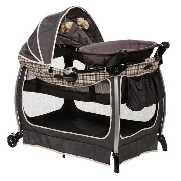 Baby Care Playpen Reviews Eddie Bauer Complete Care Playard In Colfax Free