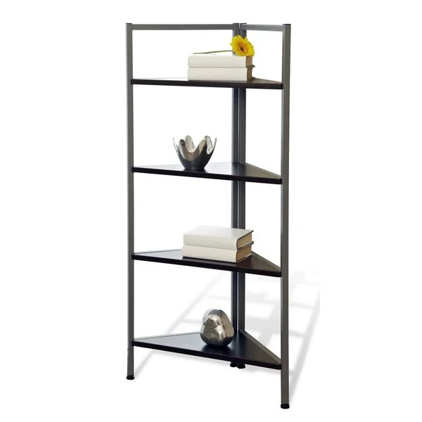 Shop Tribeca Corner Bookcase Free Shipping Today