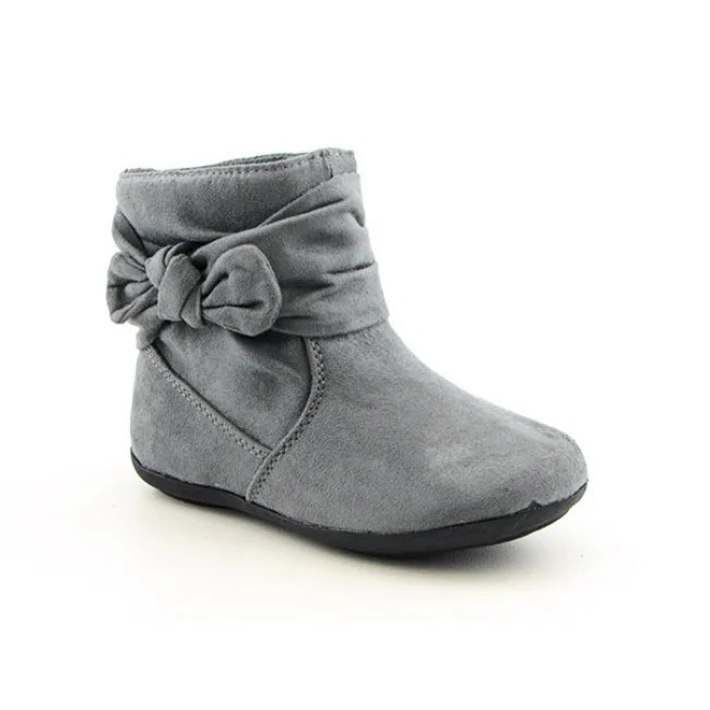 Toddler Shoes Online Rampage Toddler Girls Tiffany Gray Boots (Size 12) - Overstock™ Shopping - Great Deals on ...