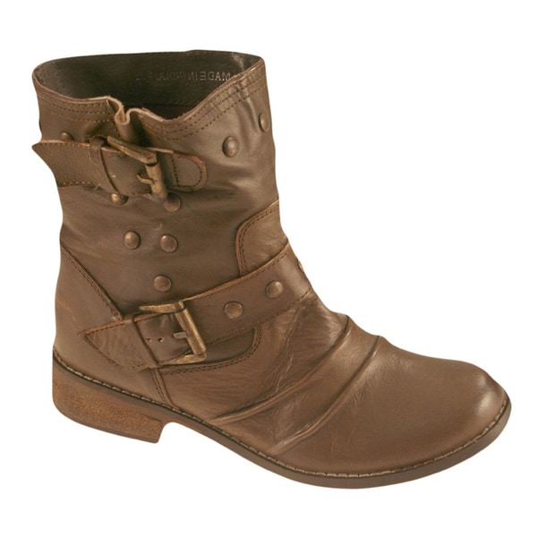 Shop Mia Women39s Xenia Buckle Shaft Ankle Boots Free