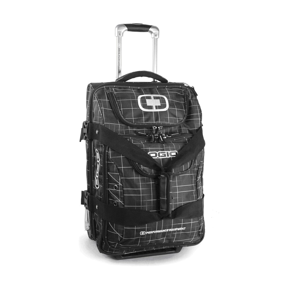 Canberra Today Ogio Canberra Griddle 22 Inch Drop Bottom Carry On Rolling Upright Duffel Bag