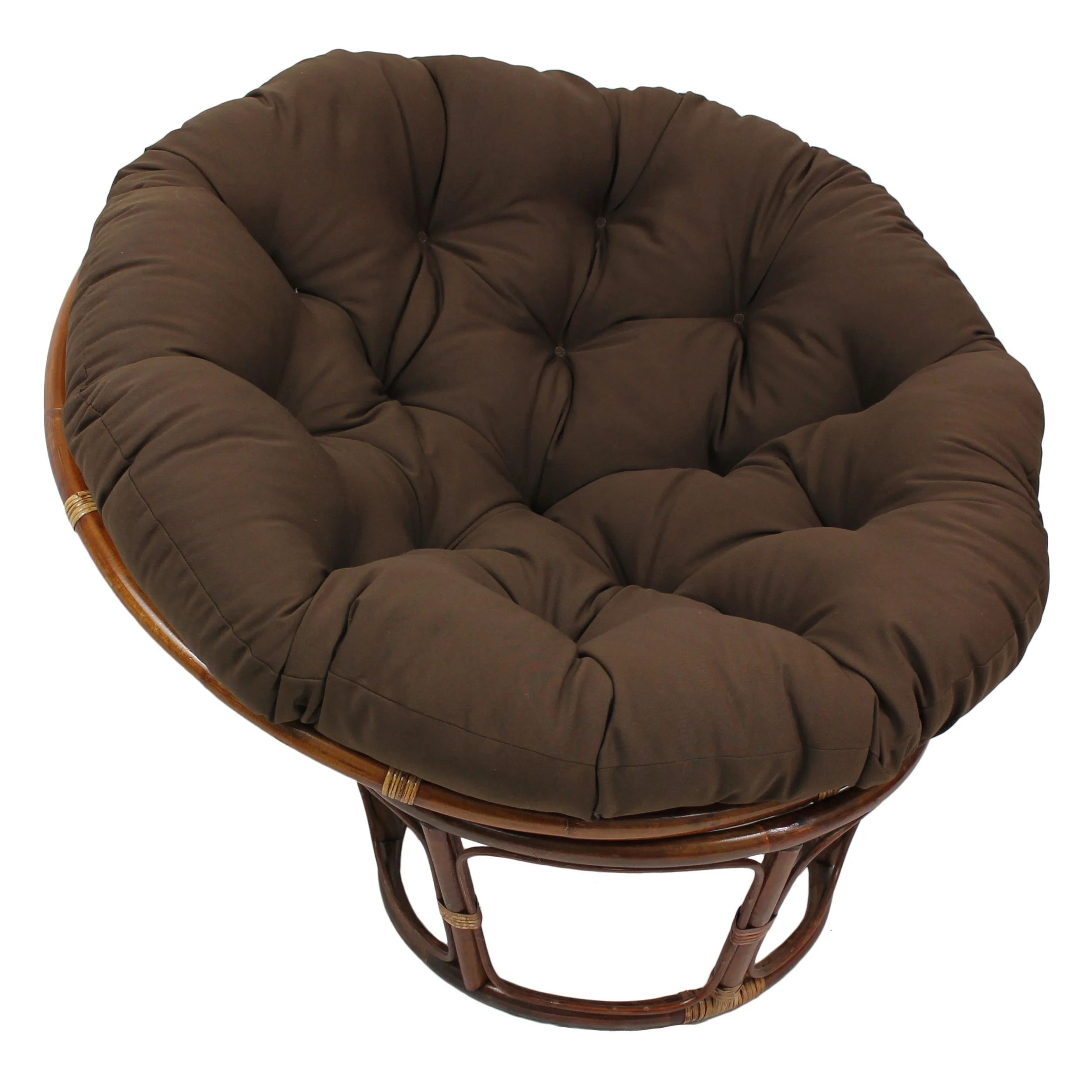 blazing needles papasan 44 inch twill cushion