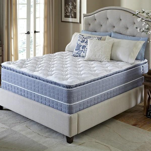 Serta Revival Pillow Top Queen Size Mattress And