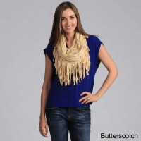Shop Scarf with Fringes - On Sale - Free Shipping On ...