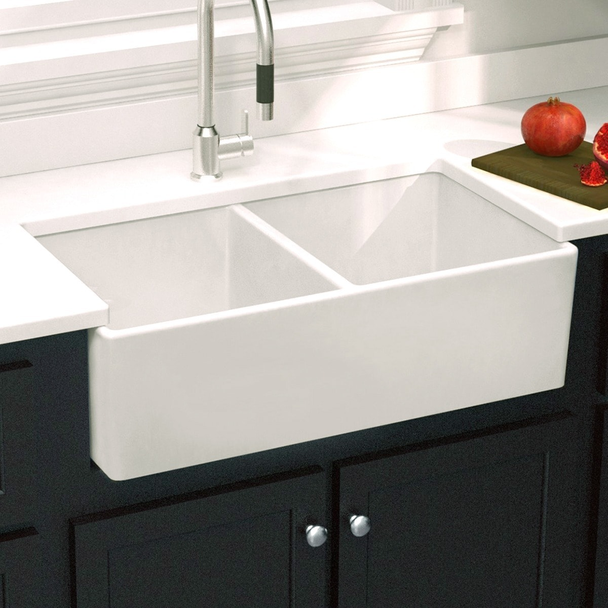 Overstock Farmhouse Sink Fireclay Farmhouse Sink