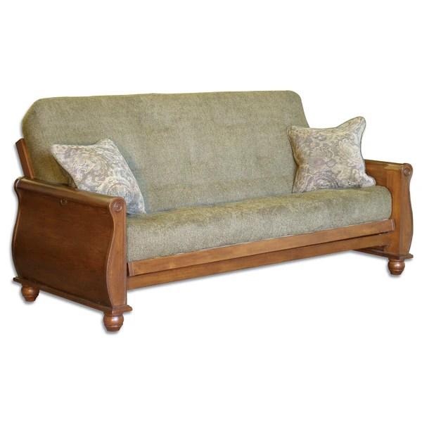 Shop Big Tree Furniture Bordeaux Futon Sofa Sleeper Free