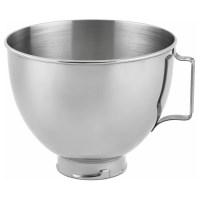 KitchenAid K45SBWH Stainless Steel 4.5-quart Mixing Bowl ...