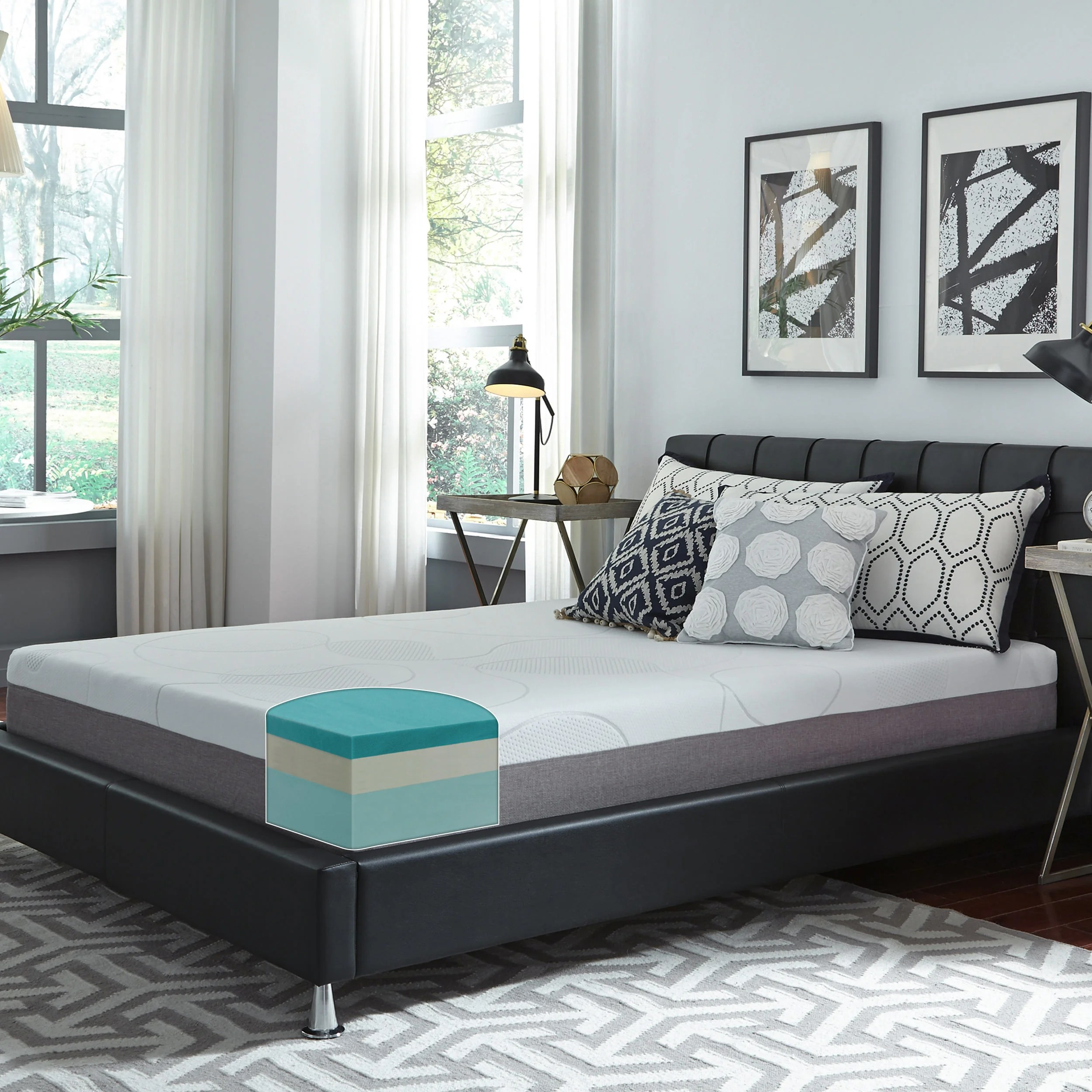 Bed And Mattress Deals Buy Mattresses By Size Type Brands Online At Overstock Our