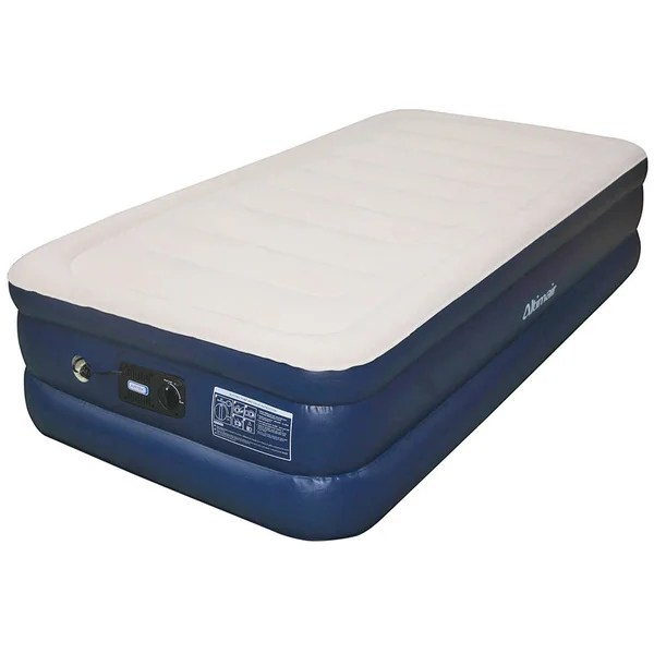 Shop Airtek Raised Twin Size Air Bed With Bulit In Pump