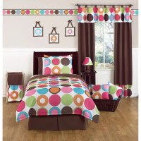 Sweet Jojo Designs Girl's 'Deco Dot Modern' 4-piece Twin ...