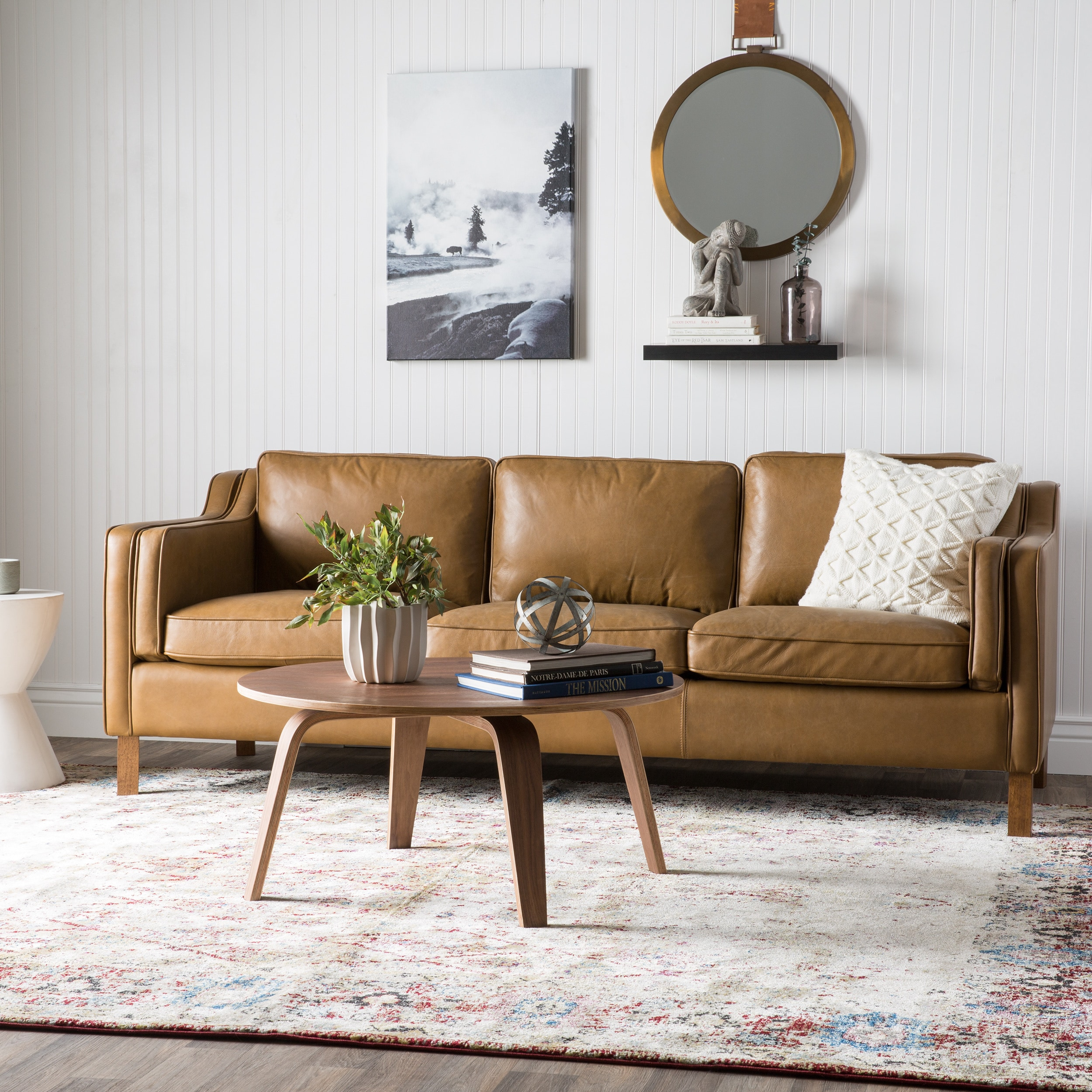Canapé But Broadway Strick Bolton Canape 86 Inch Oxford Honey Leather Sofa