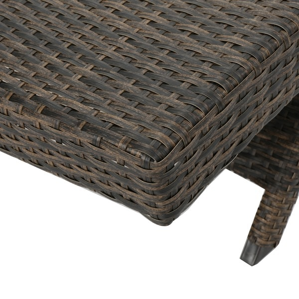 Toscana Outdoor Wicker Lounge Chairs By Christopher Knight Home   Chairs  Wicker