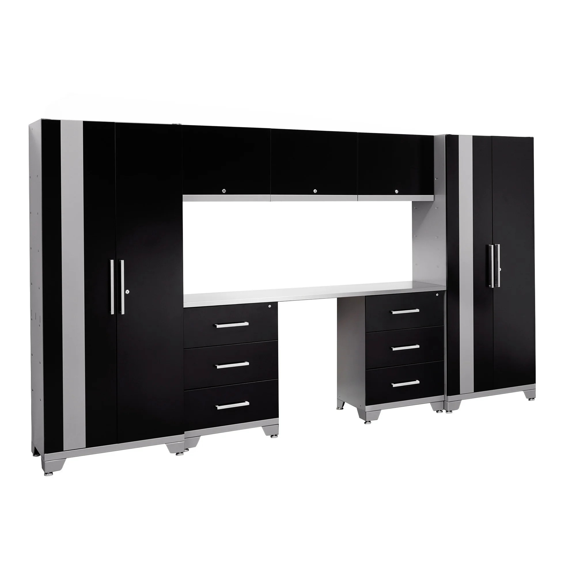 Garage Cabinets Overstock Newage Products Performance Series 8 Piece Cabinet Set