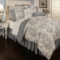 Sherry Kline Country Toile Blue 6-piece Luxury Comforter ...