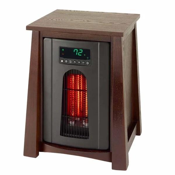 Shop Lifesmart Pro Ls 8wqh Dlx13b Infrared Space Heater