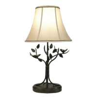 Bronze Bird and Leaf 1-light Table Lamp - Free Shipping ...