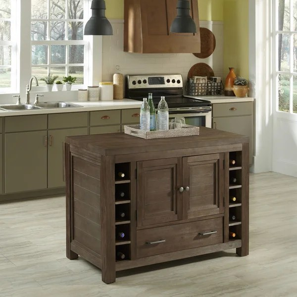 Overstock Kitchen Island Barnside Kitchen Island By Home Styles - Free Shipping