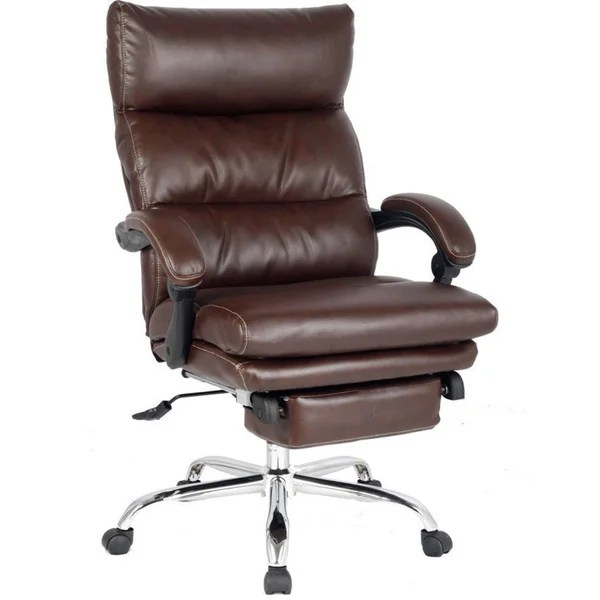 Shop Viva Office High Back Ergonomic Bonded Leather Swivel - Leather High Back Lounge Chair