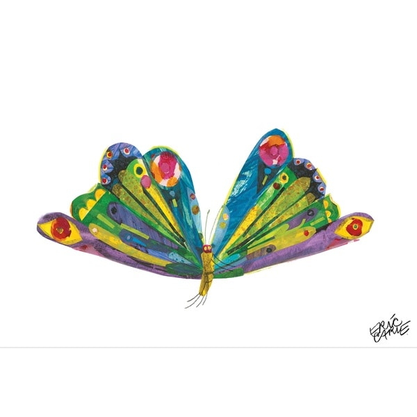 Shop Eric Carle The Very Hungry Caterpillar Character Art Butterfly