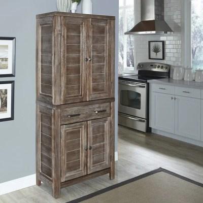 Home Styles Barnside Pantry - 16974146 - Overstock.com ...