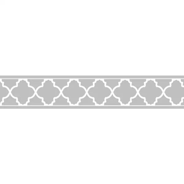 Baby Girl Nursery Wallpaper Borders Shop Sweet Jojo Designs Grey White Trellis Wall Border