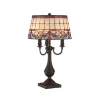 Audrina Drape Crystal Table Lamp - 14206609 - Overstock ...