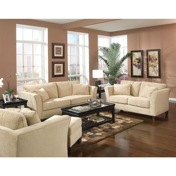 Park Ave 3-piece Living Room Set - Free Shipping Today - Overstock - 3 piece living room sets