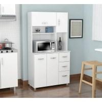 Shop Inval America LLC Laricina White Kitchen Storage ...