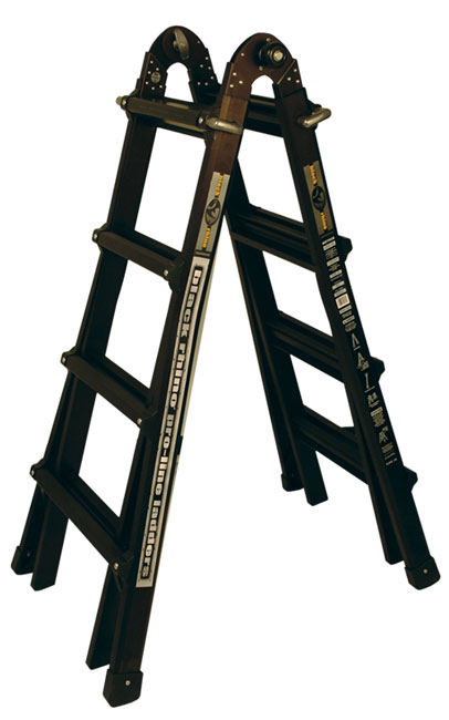 Black Rhino Professinal All In One 26 Foot Ladder Free