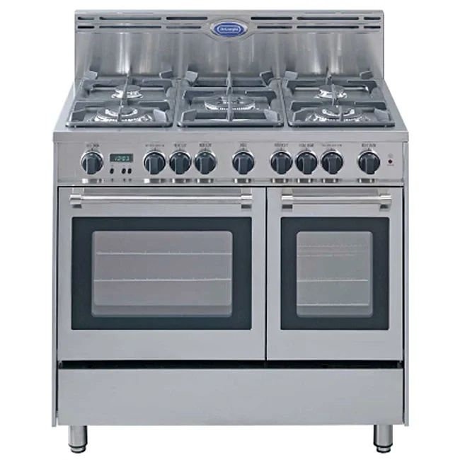 Delonghi stainless steel 36 inch gas range free shipping today