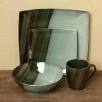 Sango Avanti Green 16-piece Dinnerware Set - Free Shipping ...